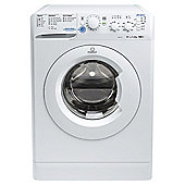 Indesit Innex Washing Machine,  XWSC61051W, 6KG Load, White