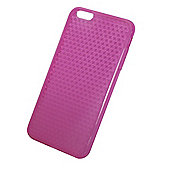 Tortoise™ Soft Protective Case,iPhone 6 Plus,Honeycomb design, Pink.