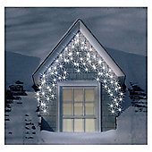 4.6m Set 200 Frosted Warm White Indoor & Outdoor Icicle LED Lights