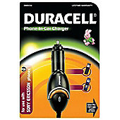 Duracell In-Car Charger for Sony Ericsson/Sony