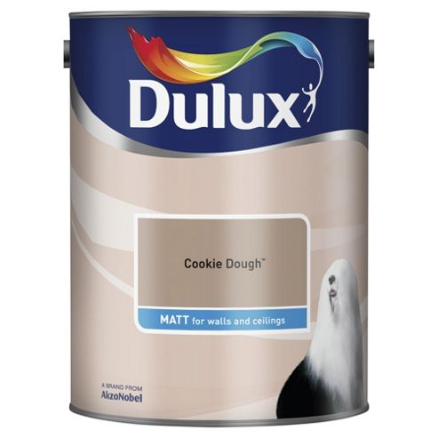 Dulux Matt Emulsion Paint, Cookie Dough, 5L
