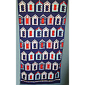 Country Club Microfibre Beach Towel, Beach Huts