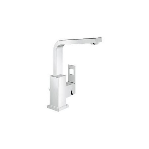 Grohe Eurocube Side Action Mono Basin Mixer Tap, Single Handle, Chrome