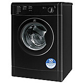 Indesit Ecotime Tumble Dryer, IDV75BK, 7KG Load, Black