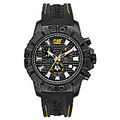 CAT Mens Rubber Chronograph Date Watch CA.163.27.127