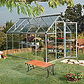 Palram Harmony 6' x 10' - Silver Greenhouse - Polycarbonate and Aluminium Frame