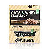 Optimum Nutrition Oats & Whey Flapjacks - Double Chocolate