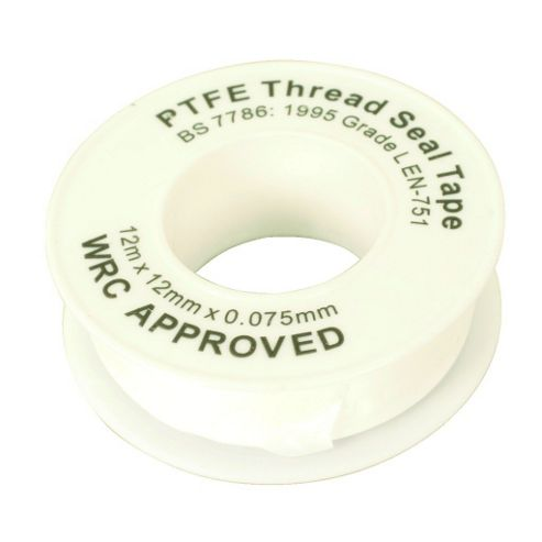 Maplin P.T.F.E Thread Seal Tape 12m
