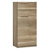 Contra 2 Drawer 1 Door Narrow Cupboard
