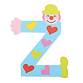 Tatiri Crazy Clown Letter Z ((Blue) Hearts)