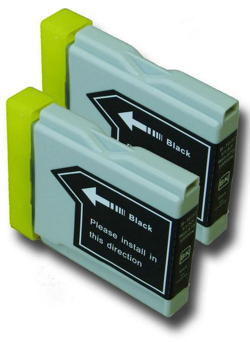 The Ink Squid Brother LC1000 Bk Compatible Ink Cartridges Black
