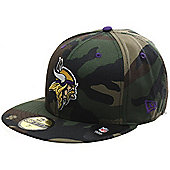 New Era Cap Co Camo Pop Redux Fitted Cap - Minnesota Vikings in Camo Size: 7 3/8 inch