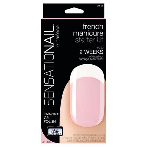 Sensationail Gel Polish Starter Kit - French Manicure