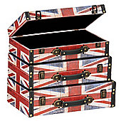 Premier Housewares Britannia Storage Cases (Set of 3)