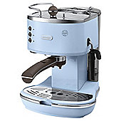 DeLonghi Vintage Icona Pump Espresso Coffee Machine - Azure Blue