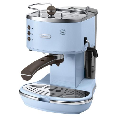 Delonghi Coffee Maker Manual : Buy DeLonghi Vintage Icona Pump Espresso Coffee Machine - Azure Blue from our Espresso Machines ...