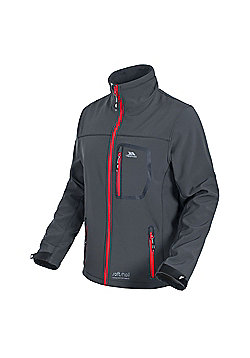 Trespass Mens Amherst Softshell Jacket - Grey
