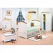 Tutti Bambini Barcelona 2 Piece Furniture Set - Beech White