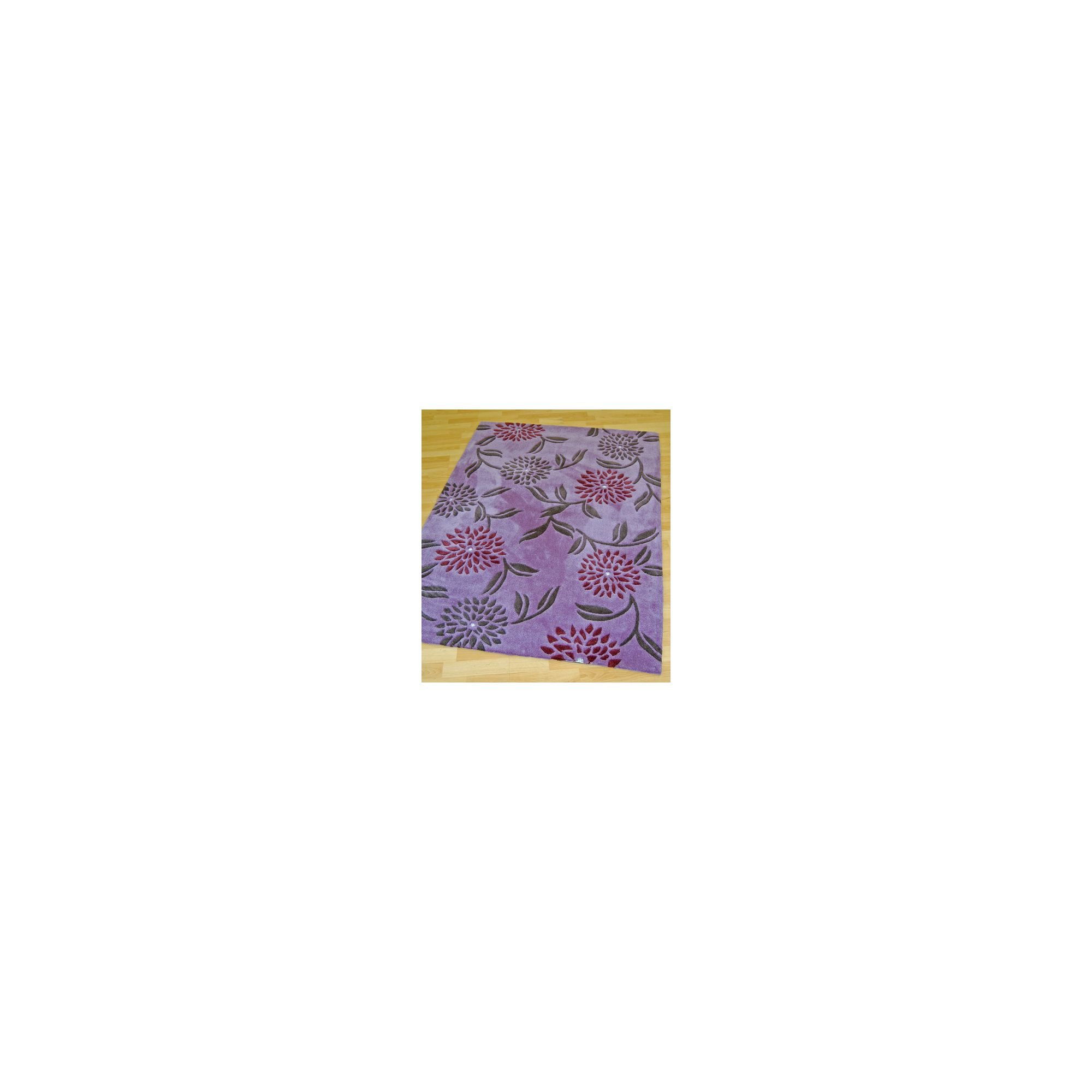 Other Origin Red Gem Plum Rug - 170cm x 120cm