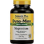 Natures Plus Dyno Mins Magnesium 250mg 90 Capsules