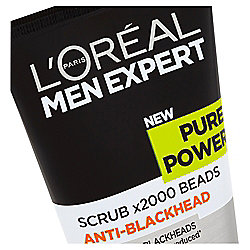L'Oréal Men Expert Pure Power Scrub 150Ml