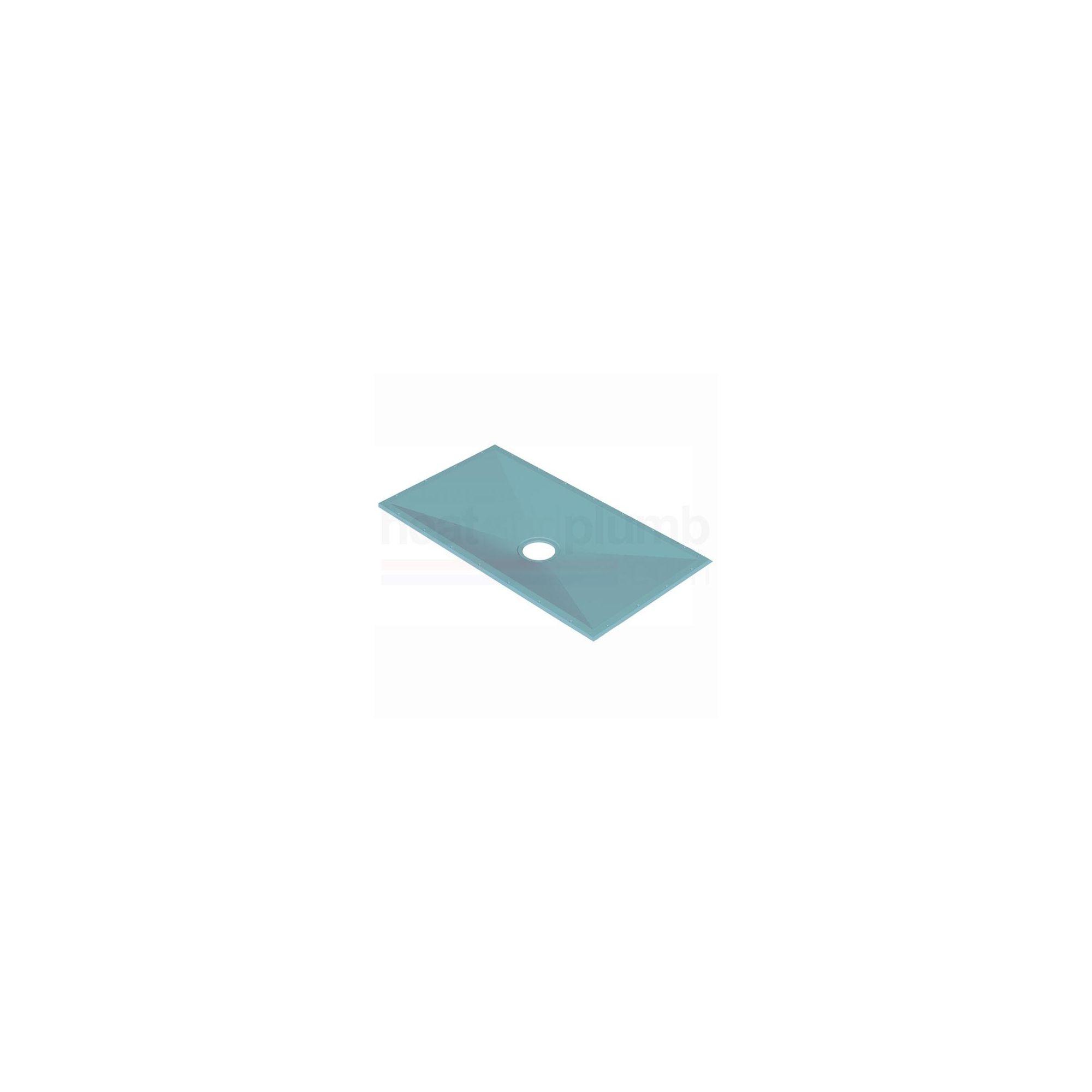 AKW Tuff Form Rectangular Wet Room Floor Former 1500mm x 1200mm at Tesco Direct