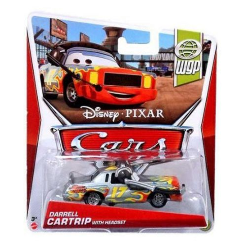 Disney Cars Darrell Cartrip (with headset)