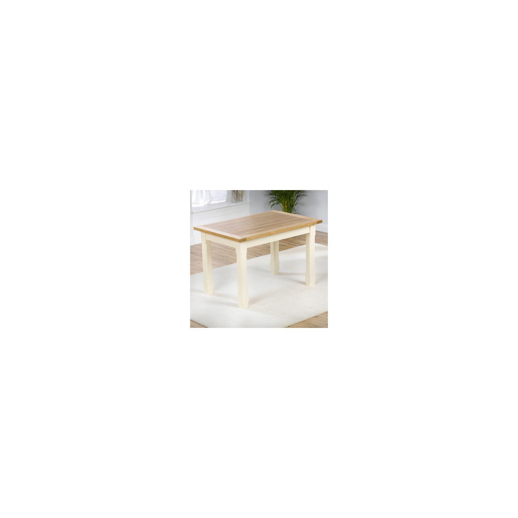 Mark Harris Furniture Windsor 120cm Dining Table in Solid Oak