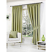 Milan Pencil Pleat Curtains 229 x 137cm - Green