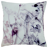 Floral Shadow Print Cushion