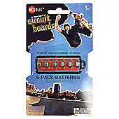 Hexbug Tony Hawk Circuit Boards 6 Pack Batteries