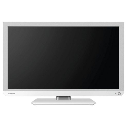buy toshiba 24d1334b2 24 inch hd ready 720p led tv dvd combi with freeview white from our. Black Bedroom Furniture Sets. Home Design Ideas