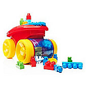 Mega Bloks Scooping Wagon (Red)