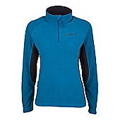 Womens Buxton Walking Hiking Fleece - Ocean blue