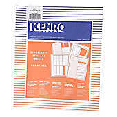 Kenro Negative File Pages 120 Acetate - pack of 100