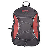 Mountain Warehouse Bolt 18 Litre Backpack, Red