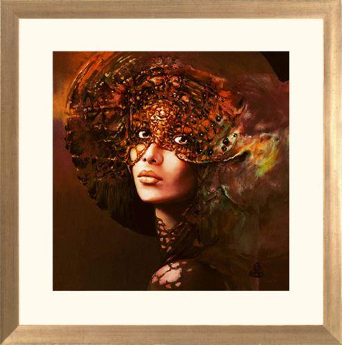 Spires Art Prima XXII by Karol Bak Framed Print