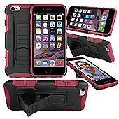 Orzly® Iphone 6 & 6S Rugged Shock Proof Heavy Duty Armor Tough Hard Case - Red