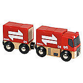 Brio Freight Semi Truck, wooden toy