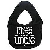 Dirty Fingers If you think I'm Cute you should see my Uncle Bib Black