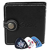 Tiger Guitar Pick Wallet with 12 Plectrums
