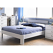 "Alto Furniture Visualise Century Bed Frame - Double (4' 6"")"