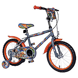 "Urban Rider 16"" Kids' Bike with Stabilisers"