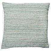 Stripe Chenille Cushion, Green