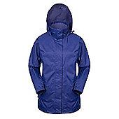 Guelder Womens Winter Long Jacket - Blue
