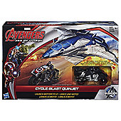 Marvel Avengers Age of Ultron Cycle Blast Quinjet