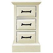 Ultimum Hambleton Off White Bedside Cabinet