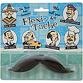 Flexible Fancy Dress Moustache