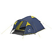 Easy Camp 3 Man Quasar 300 Dome Tent Blue