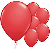 Red Balloons - 11' Latex Balloon (6pk)